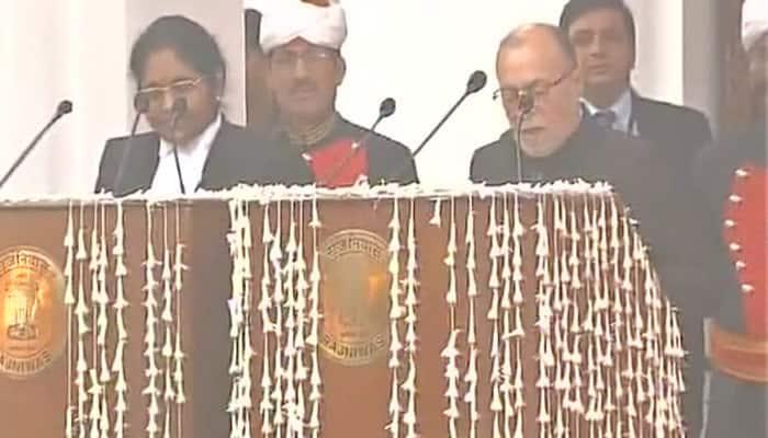 டெல்லி ஆளுநராக அனில் பைஜால் பதவியேற்றார்