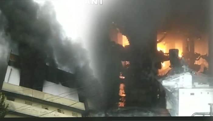 பிளாஸ்டிக் தொழிற்சாலையில் தீவிபத்து!