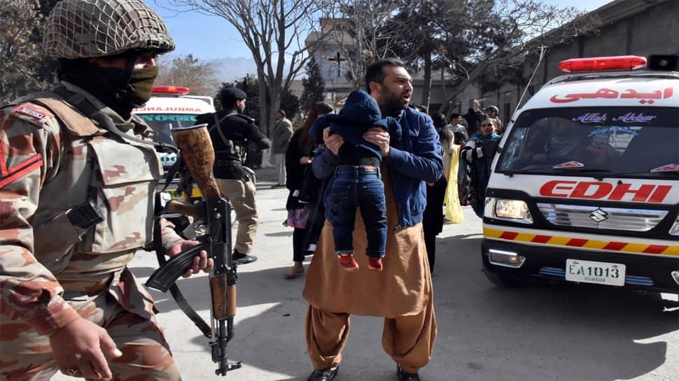 பலூசிஸ்தான் தேவாலயத்தில் பயங்கரவாதிகள் தாக்குதல் 4 பேர் பலி; 25பேர் காயம்
