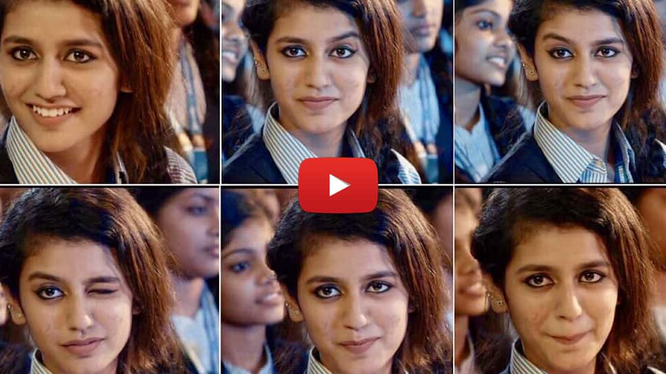 "Viral Video: ""அஜித், விஜய், சூர்யா"" விட்டுவைக்காத பிரியா பிரகாஷ் வாரியர்"