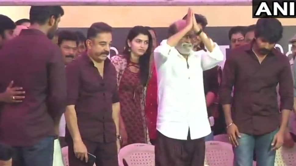 #Cauvery: நடிகர் சங்கம் போராட்டம் நிறைவு! ரஜினி, கமல், விஜய் விக்ரம் ஆகியோர் பங்கேற்பு!!