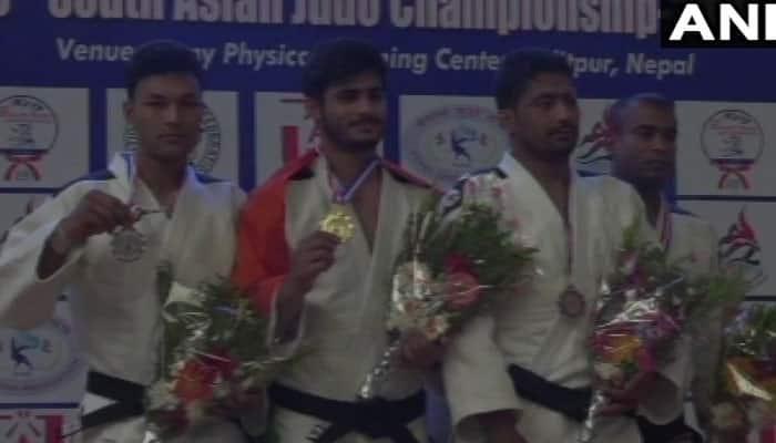 ஜூடோ சாம்பியன்ஷிப் போட்டி: இந்தியாவிற்கு கிடைத்தது 10 தங்கம்!!