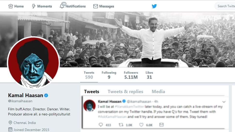 #AskKamalHaasan: கமல்ஹாசன் புதிய டிவிட் பதிவு!