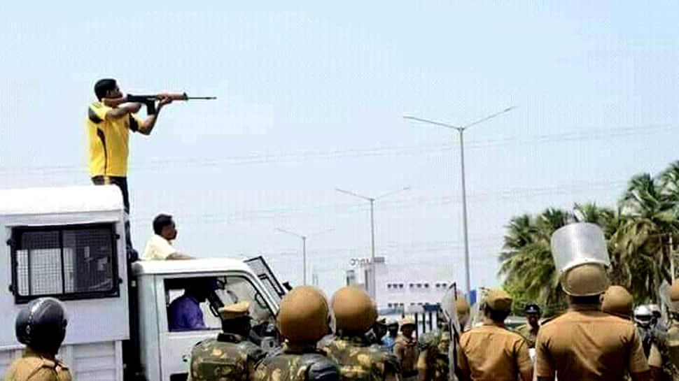 அரசு ஊழியர்களை காக்கவே துப்பாக்கி சூடு -டிஜிபி பதில் மனு!