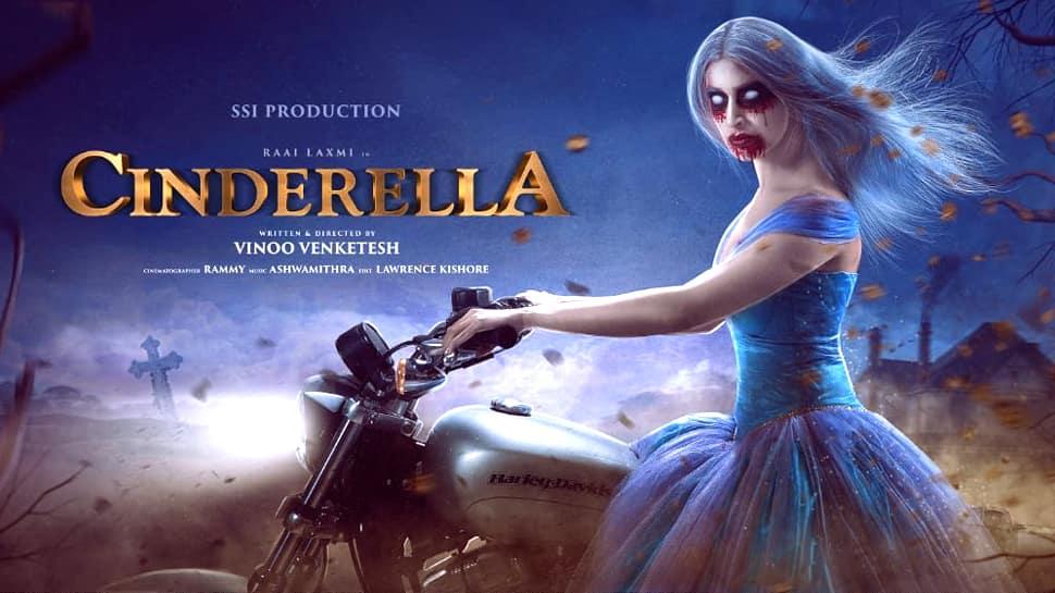 வெளியானது ராய் லட்சுமியின் 'சிண்ட்ரல்லா' FirstLook போஸ்டர்!!