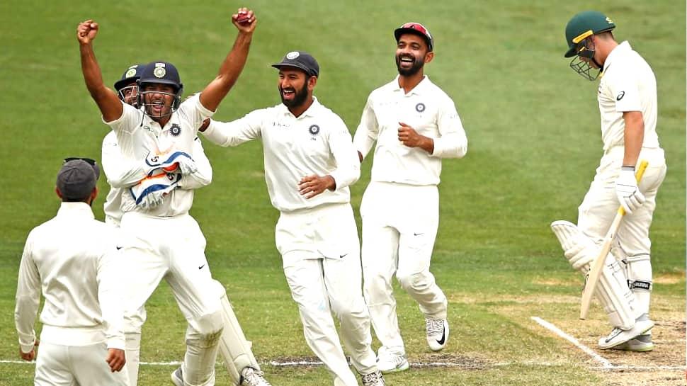 INDvsAUS, 3rd Test Day 4: வெற்றியின் விளிம்பில் இந்தியா அணி...