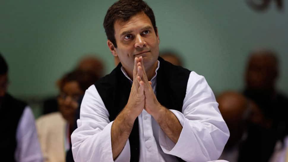 மக்களவைத் தேர்தல் 2019: டெல்லியில் வாக்களித்த காங்கிரஸ் தலைவர் ராகுல்காந்தி