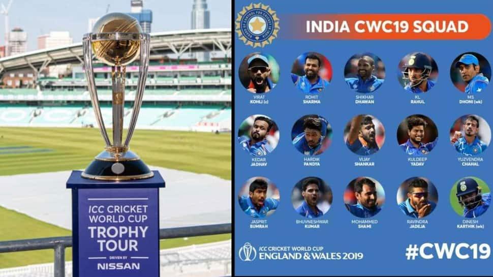 2019 உலகக் கோப்பைக்கான இறுதி இந்திய அணி அறிவிப்பு!!