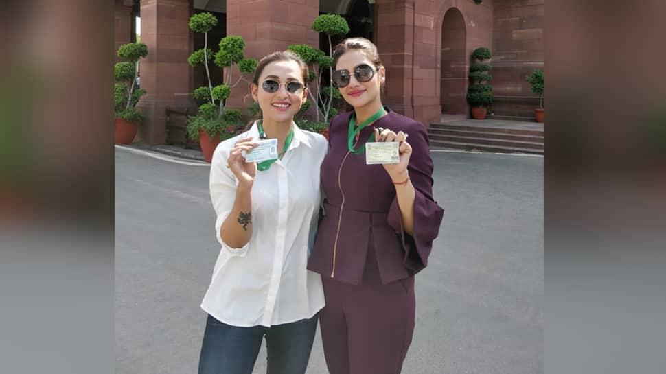 மிமி சக்ரபோர்டி மற்றும் நாருஷத் ஜஹான்