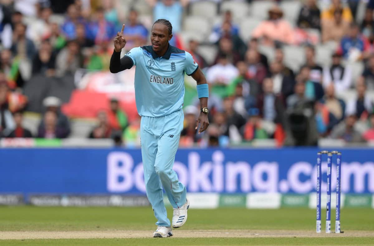 Jofra Archer strikes