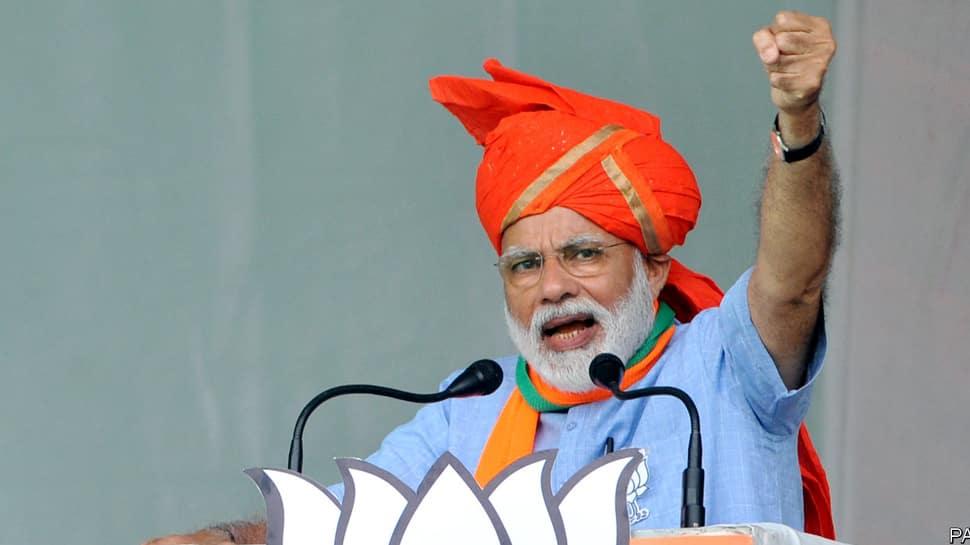 இந்தியாவின் ஆன்மாவை காங்கிரஸ் சிதைத்துவிட்டது - மோடி!