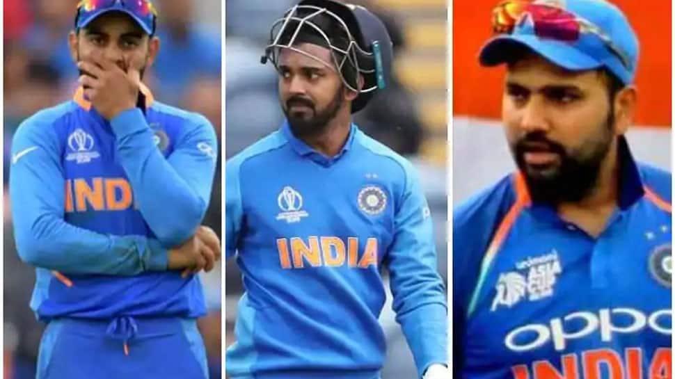 உலகக் கோப்பை 2019: விராட், ரோஹித், ராகுல் ஆகியோரின் மோசமான சாதனை