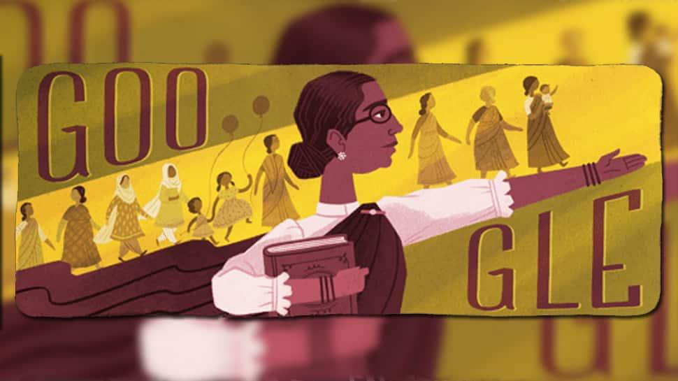முத்துலட்சுமி ரெட்டியின் பிறந்தநாளை கொண்டாடும் Google Doodle!