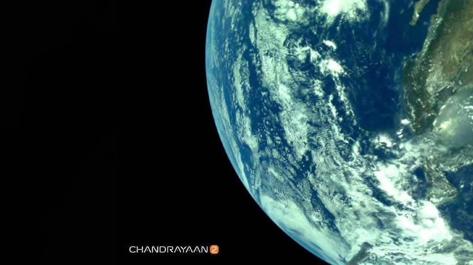சந்திரயான்-2 எடுத்த பூமியின் முதல் புகைப்பட தொகுப்பை ISRO வெளியீடு!