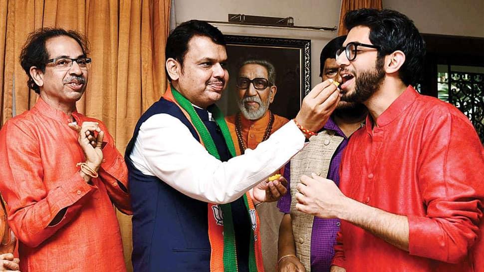 மகாராஷ்டிரா சட்டமன்றத் தேர்தல் முடிவு: பாஜக-சிவசேனா கூட்டணிக்கு பெரும்பான்மை