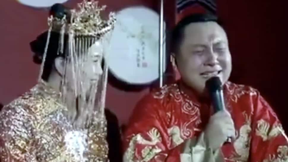 Video: மணமேடையில் கதறி கதறி அழும் மணமகன்... காரணம் என்ன?