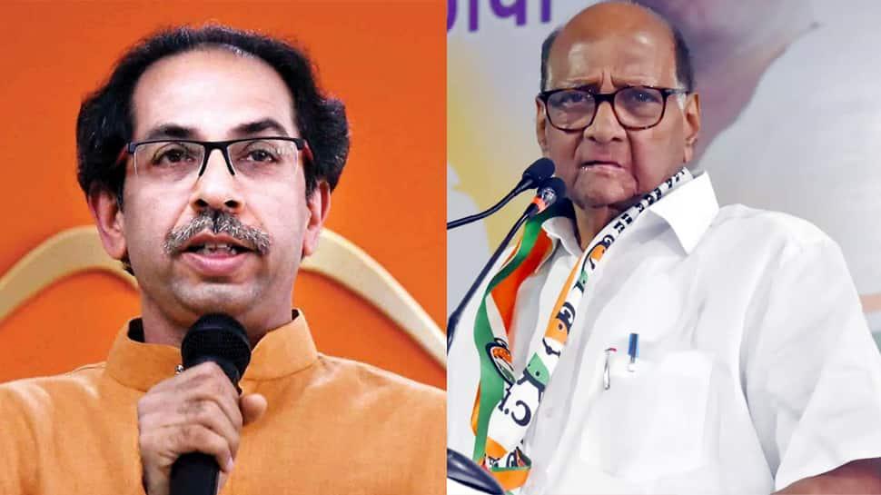 அரசியல் திருப்பம்! Shiv Sena தலைவர் சஞ்சய் ரவுத் NCP தலைவர் சரத் பவாரை சந்தித்தார்
