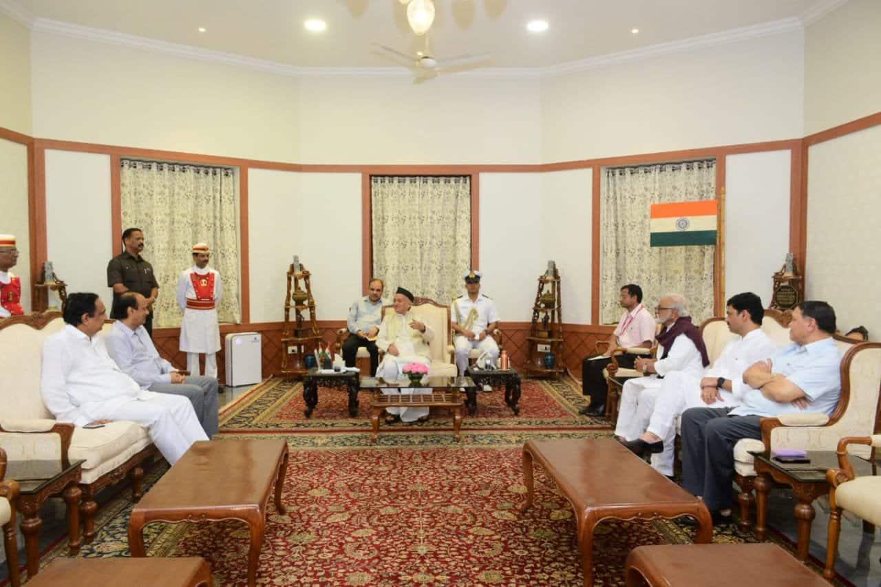 ஆட்சி அமைக்க தவறிய சிவசேனா; NCP-க்கு அழைப்பு விடுத்த ஆளுநர்...