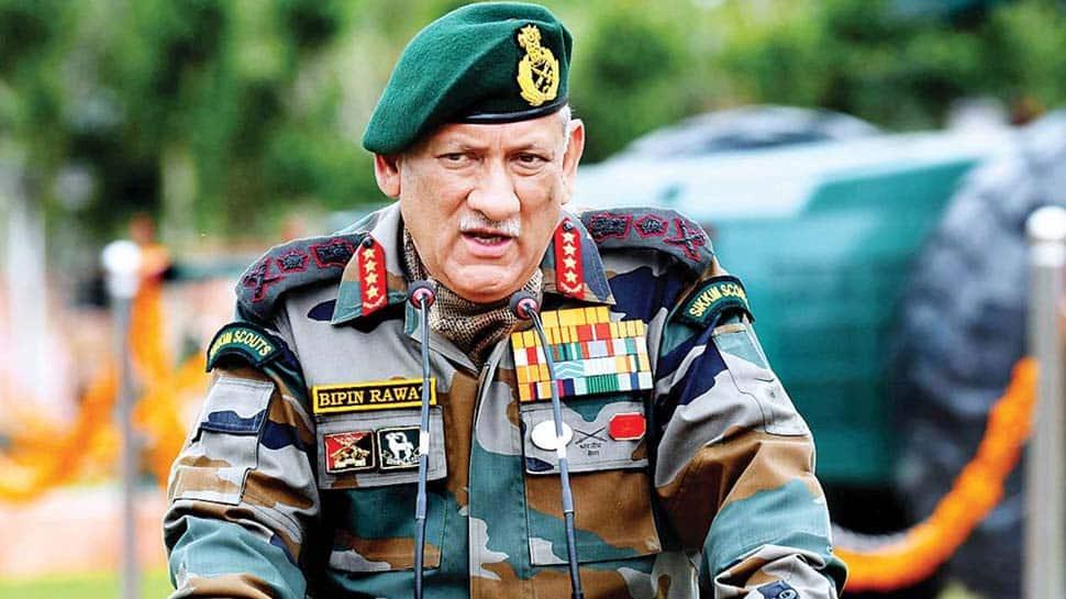 தீவிரவாத தாக்குதலால் இந்தியாவில் 'போர் இல்லை, அமைதி இல்லை' - பிபின் ராவத்
