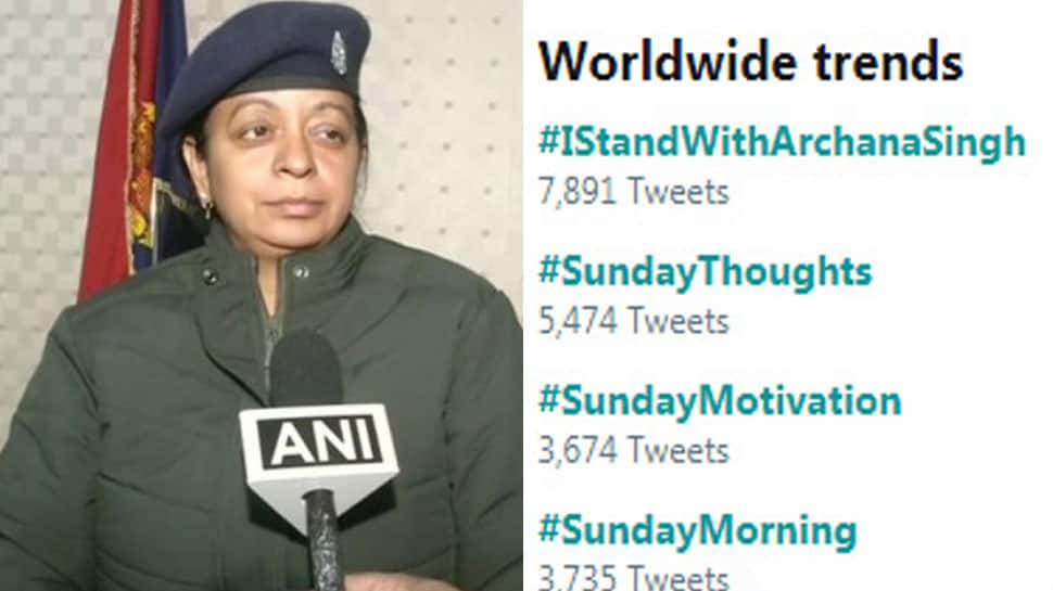 உலக அளவில் முதலிடம் பிடித்த #IStandWithArchanaSingh ஹஷ்டாக்... காரணம் என்ன?