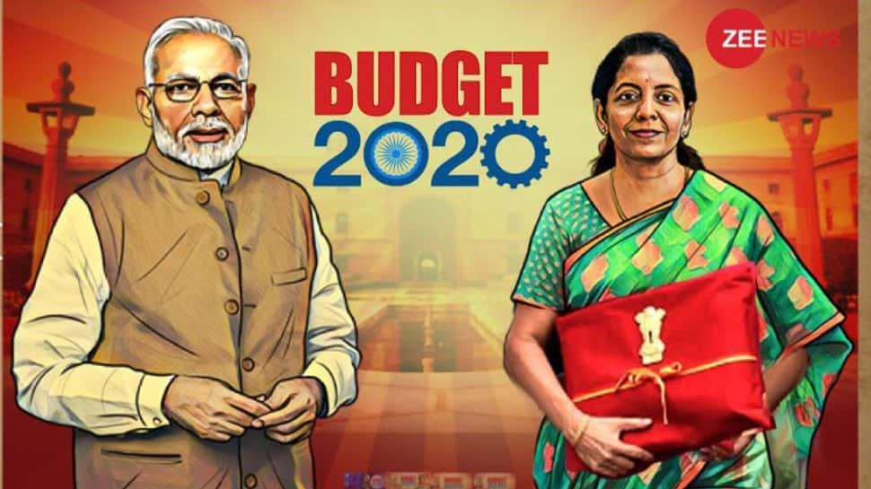பட்ஜெட் 2020: நிர்மலா சீதாராமன் நாடாளுமன்றம் வந்தடைந்தார்
