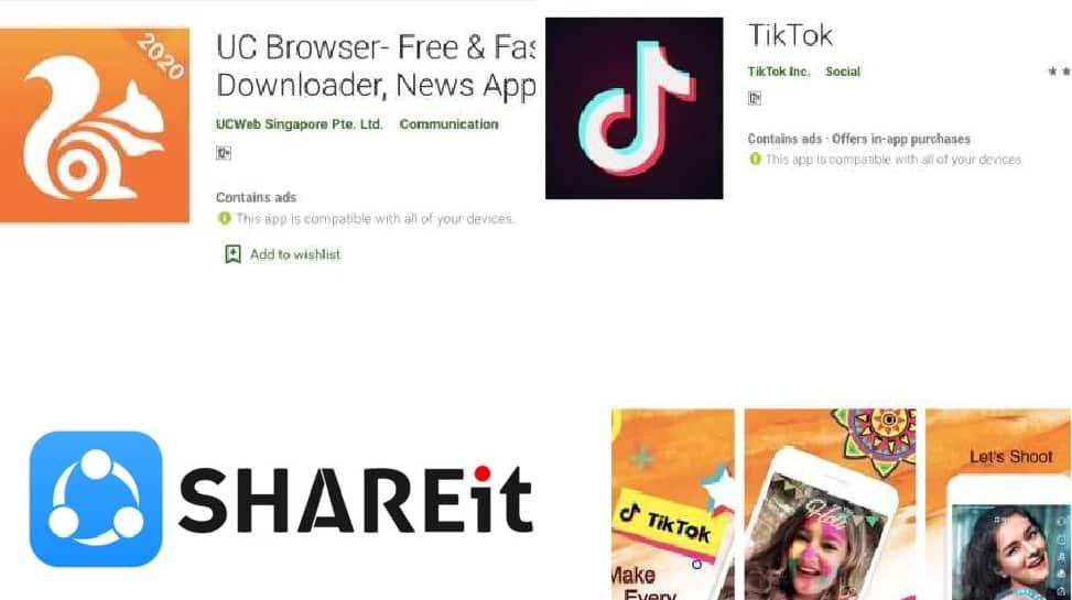 TikTok, UC browser, ShareIT உட்பட 52 சீன Apps-ஐ பயன்படுத்த வேண்டாம்: இந்திய புலனாய்வு அமைப்பு