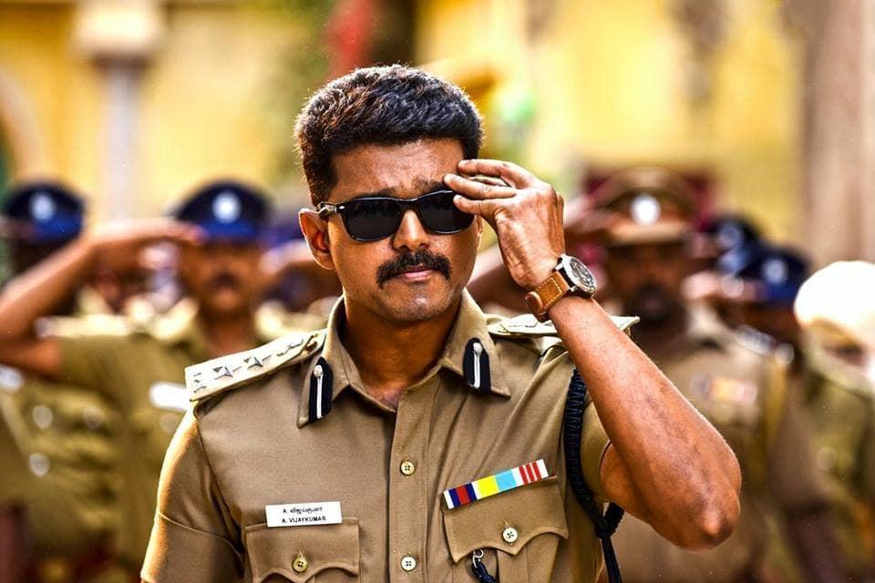 A glimpse of Vijay Kumar in 'Theri'