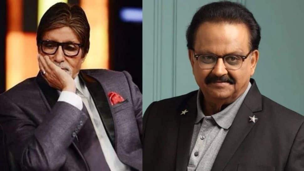 'நம்மிடமிருந்து ஒரு இனிமையான மனிதரை இந்த நோய் பறித்து விட்டது': SPB-ஐ நினைவு கூர்ந்த Amitabh Bachchan!!
