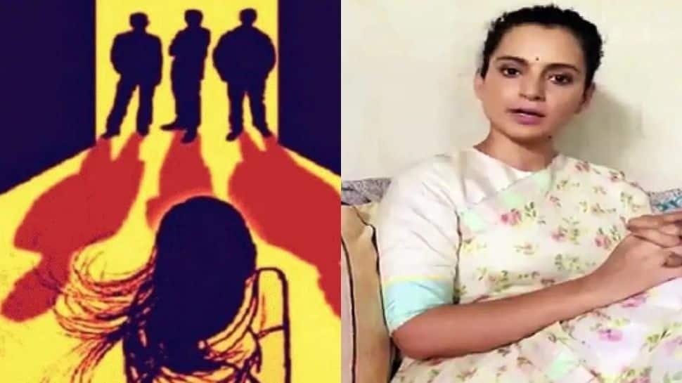 """""""அவங்கள Public-கா சுடுங்க"""": Hathras Gangrape Case குறித்து Twitter-ல் கங்கணா!!"""