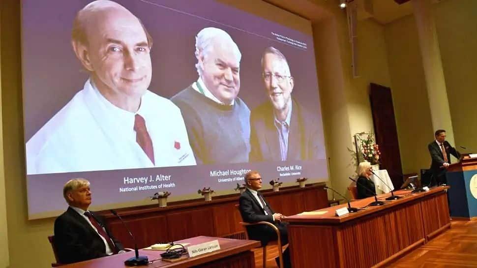 Nobel Prize 2020: ஹெபடைட்டிஸ் சி வைரஸை கண்டறிந்த 3 விஞ்ஞானிகளுக்கு நோபல் பரிசு