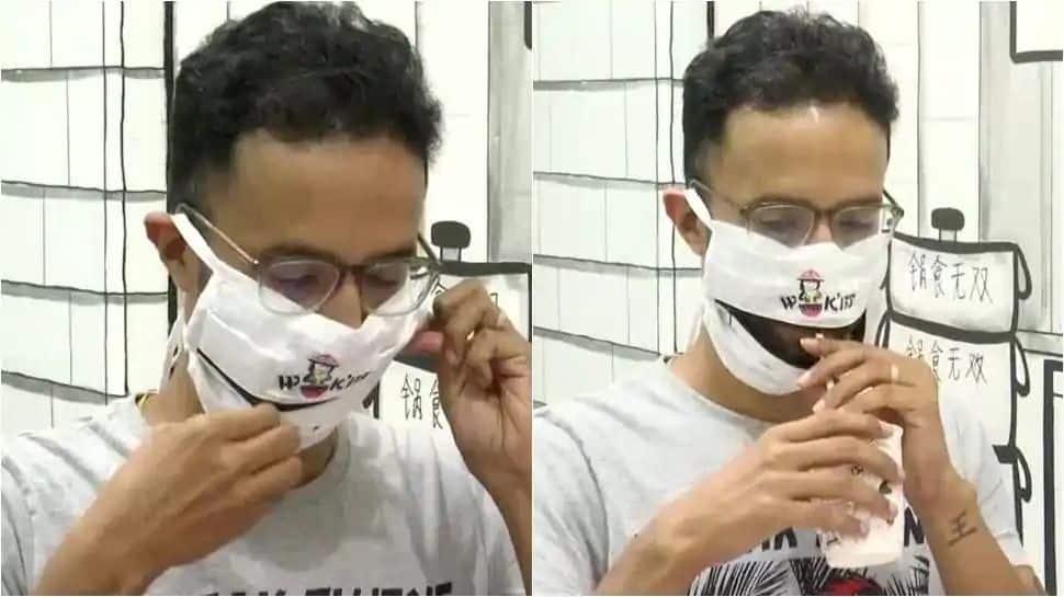 இனி mask-க கழட்ட வேண்டாம், அப்படியே சாப்பிடலாம்: வந்திடுச்சு Zip போட்ட Mask!!