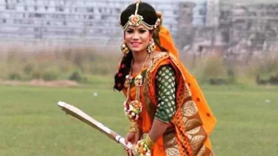 #women cricketer: இதுவொரு கிரிக்கெட் வீராங்கனையின் திருமணகோலம்…