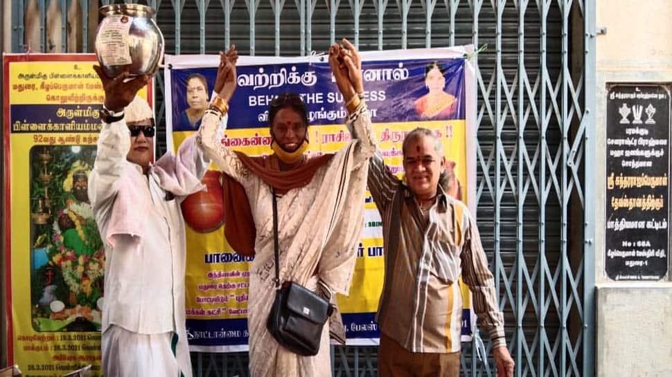 TN Election 2021: தனது சமூகத்தை உயர்த்த விரும்பும் Doctorate படித்த திருநங்கை வேட்பாளர்