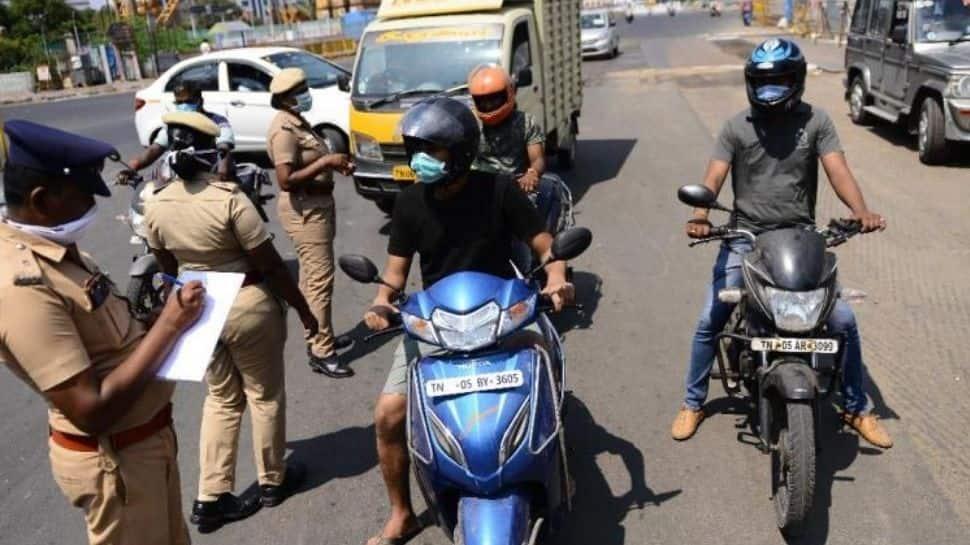 தமிழகத்தில் ஆட்டம்போடும் கொரோனா, சென்னையில் 100 போலீசாருக்கு தொற்று