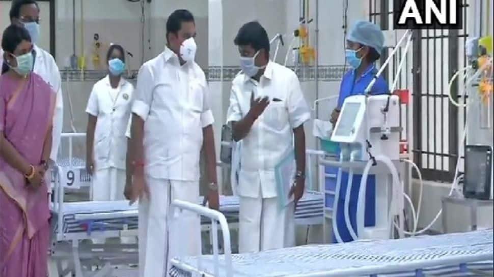 CM  Admitted in Hospital: தமிழக முதலமைச்சர் எடப்பாடி பழனிச்சாமி மருத்துவமனையில் அனுமதி