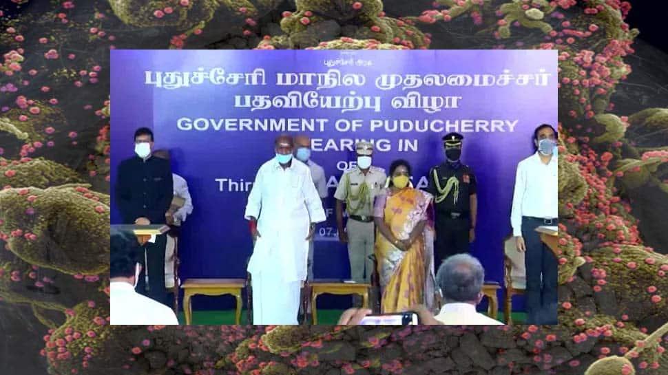 Puducherry பதவியேற்பு விழாவில் கலந்து கொள்ள வந்த 11 பேருக்கு கோவிட் தொற்று!