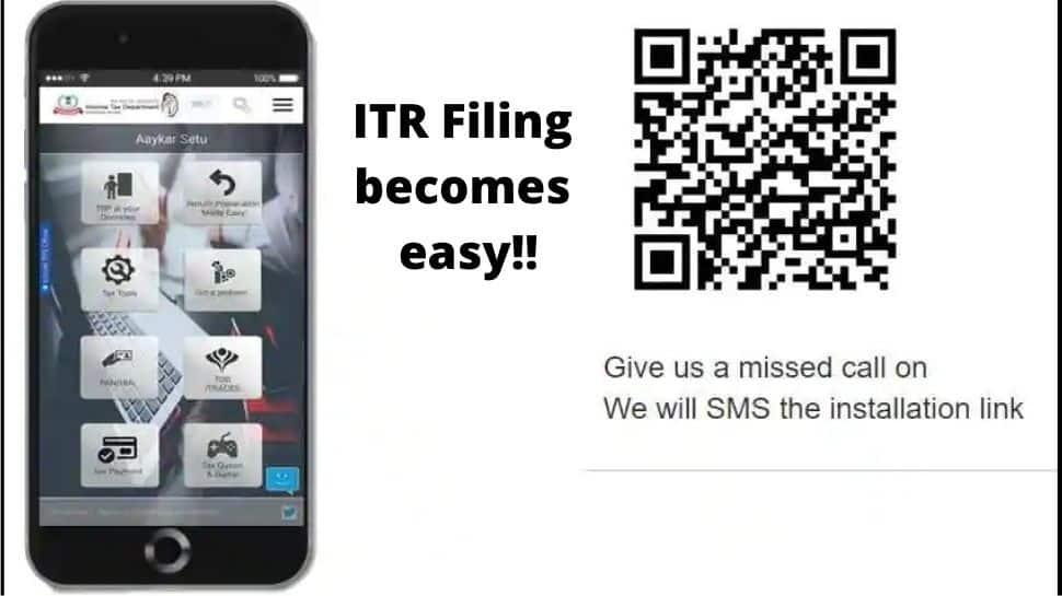 ITR: எளிதானது வருமான வரி தாக்கல், இனி மொபைல் செயலி மூலமே வேலை முடியும்