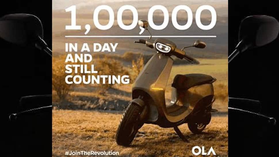 Ola Electric Scooter சாதனை: 24 மணி நேரத்தில் 1,00,000 ஸ்கூட்டர்கள் புக் செய்யப்பட்டன