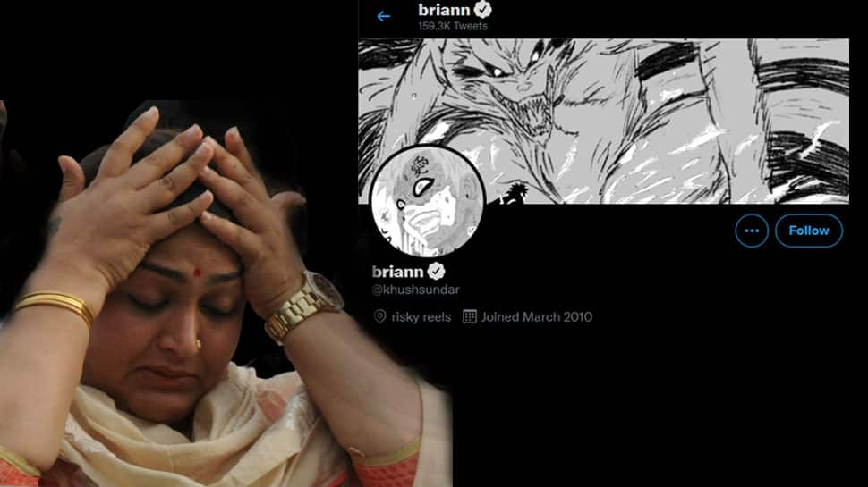 Actress Khushboo's Twitter account Hacked | நடிகை குஷ்புவின் ட்விட்டர் கணக்கு முடக்கம்