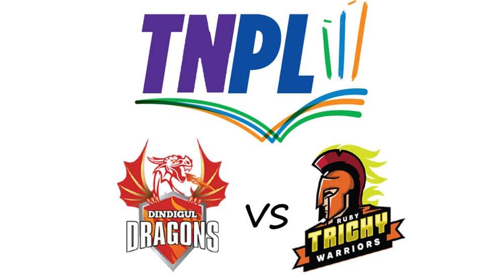 TNPL 2021: டாஸ் வென்ற திண்டுக்கல் டிராகன்ஸ் முதலில் பந்துவீச்சு தேர்வு