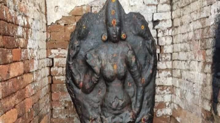 """1300 ஆண்டு கால பல்லவர் சிலை செஞ்சி அருகே கண்டுபிடிப்பு"""""""
