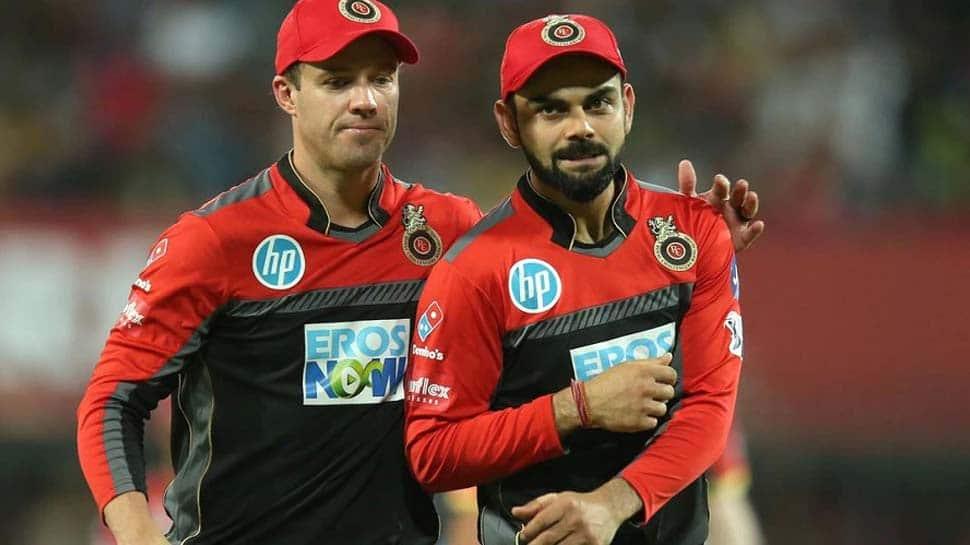 IPL 2021: உங்க வயசுக்கு என்னால இப்படி விளையாட முடியாது ப்ரோ! கோலியும், வில்லியர்சும்...