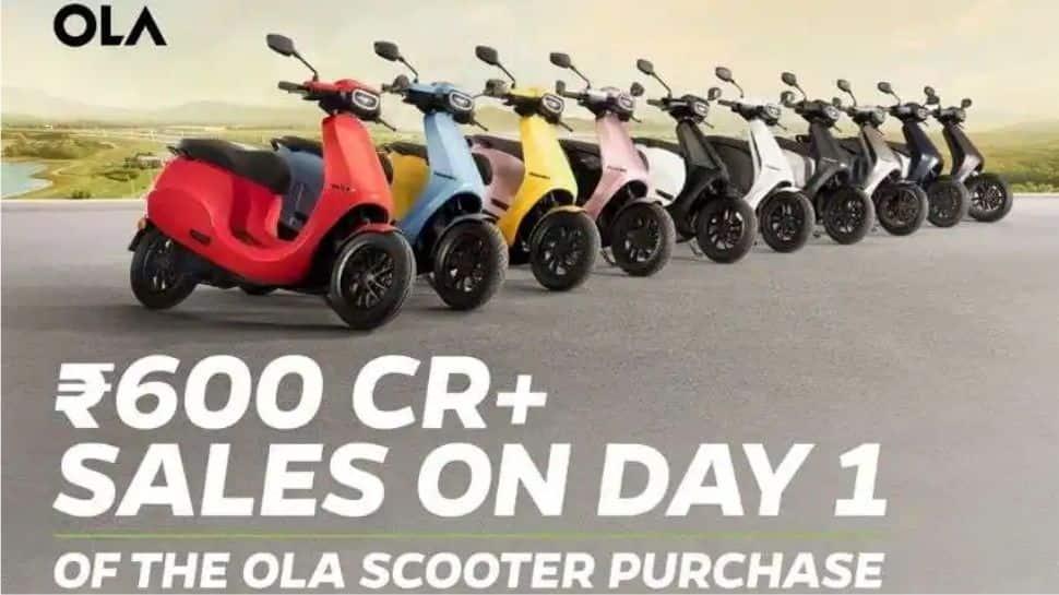Ola Electric அசுர சாதனை: ஒரே நாளில் ரூ.600 கோடி விற்பனை!!