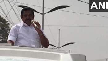 AIADMK முதல்வர் வேட்பாளர் பழனிச்சாமி கோயம்புத்தூரில் தேர்தல் பிரசாரம்