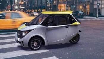தனித்துவமான மின்சார கார்: 3 சக்கரங்கள் கொண்ட மலிவு விலை Electric Car Strom R3