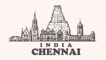 அழகிய வண்ணங்களால் அலங்கரிக்கப்பட்டுள்ள சென்னை!