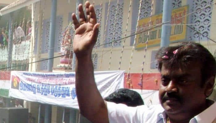 அவதூறு வழக்கு: தே.மு.தி.க. தலைவர் விஜயகாந்துக்கு பிடிவாரன்ட்