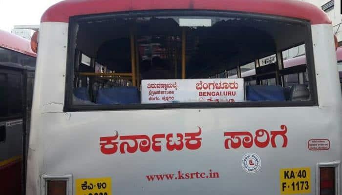 ஜெயலலிதா உடல்நிலை- தமிழகத்திற்கு பேருந்து சேவை நிறுத்தம் செய்தது கர்நாடகா