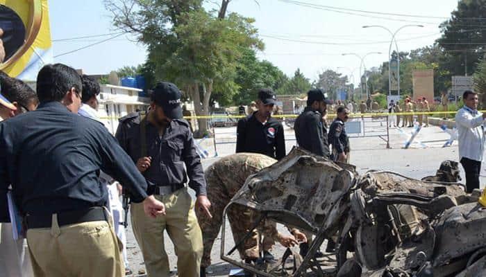 பாகிஸ்தான் குவெட்டா குண்டு வெடிப்பபில் 11 பேர் பலி