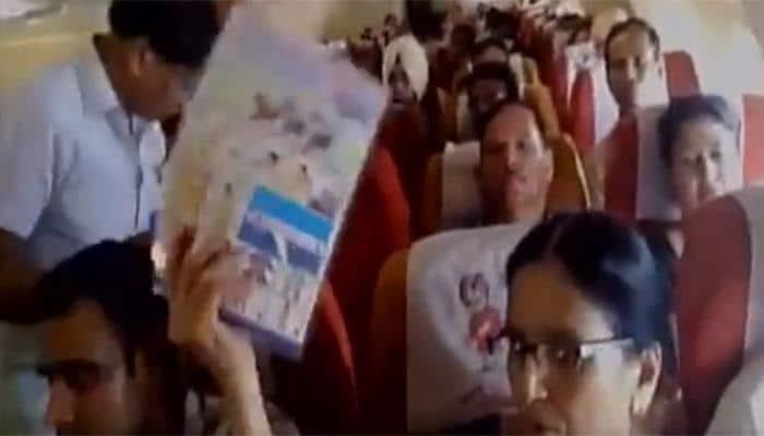 ஏசி இல்லாமல் இயங்கிய ஏர் இந்தியா விமானம்- வைரல் வீடியோ
